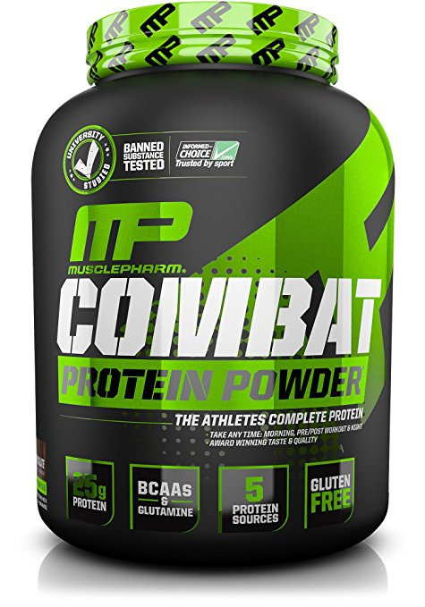 Muscle Pharm Combat Powder Advanced Time Release Protein